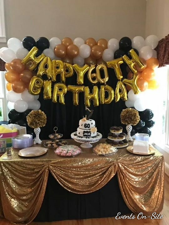 Birthday Sweets Table
