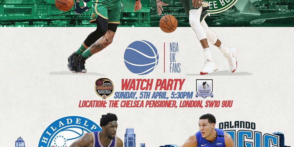 NBA UK Fans Watch Party