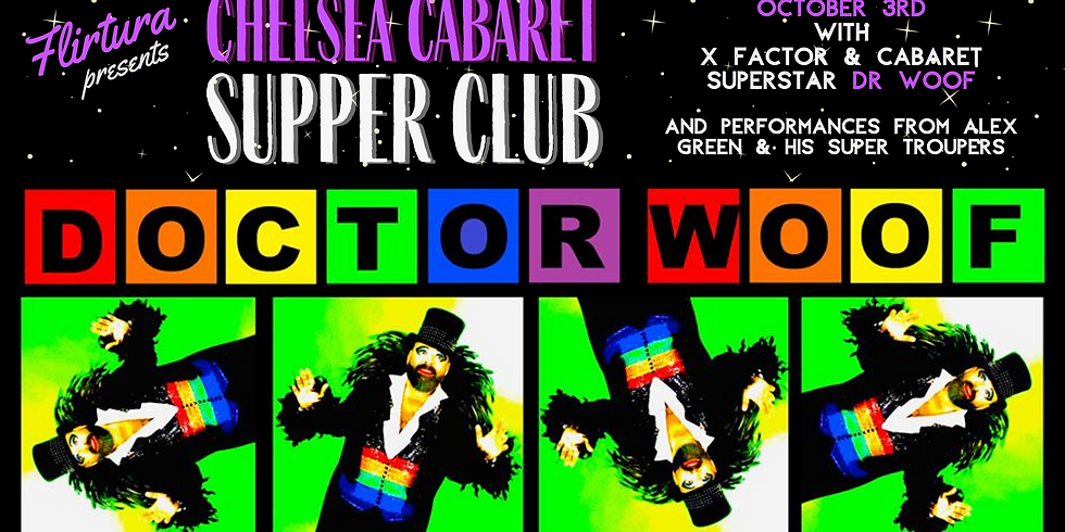 Chelsea Cabaret Supper Club: Doctor Woof