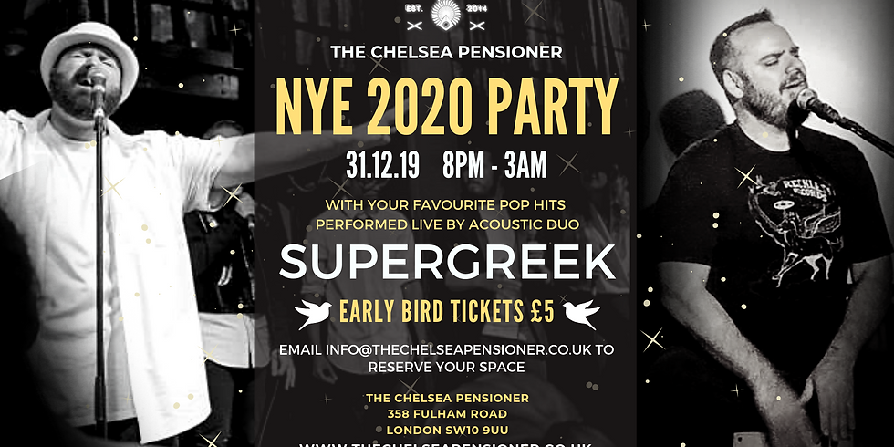 New Year's Eve 2020 Party