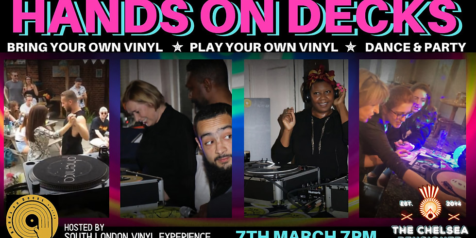 "SLVE Presents ""Hands on Decks"""
