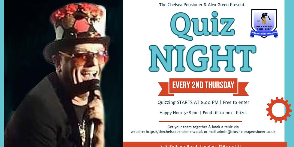 Quiz Night at The Chelsea Pensioner