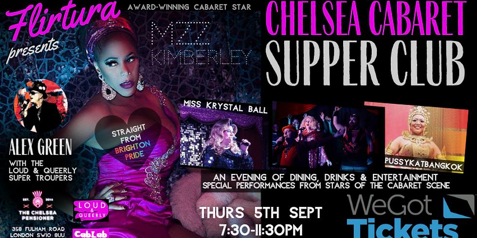 Flirtura Presents: Chelsea Cabaret Supper Club