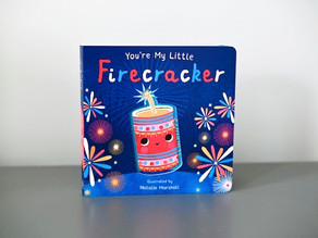 New Publication: You're My Little Firecracker with Illustrations by Natalie Marshall