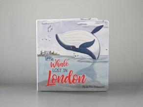 Little Whale Lost In London by Jedda Robaard