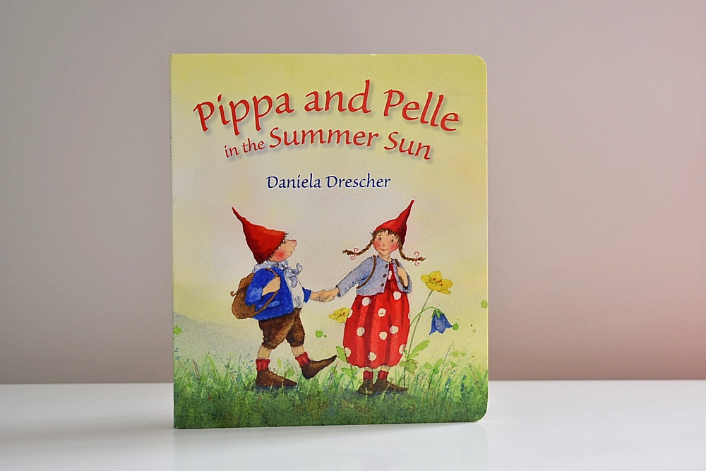 Pippa and Pelle in the Summer Sun by Daniela Drescher