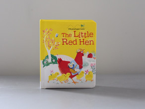 A New Board Book Version of: The Little Red Hen
