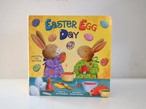 Easter Egg Day by Tara Knudson with Illustrations by Pauline Siewert
