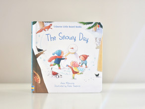 The Snowy Day by Anna Milbourne and Illustrated by Elena Temporin
