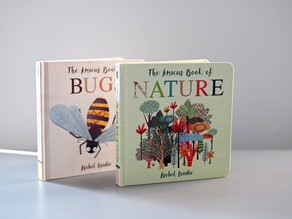 Coming Soon: The Amicus Book of Bugs & The Amicus Book of Nature by Isobel Lundie
