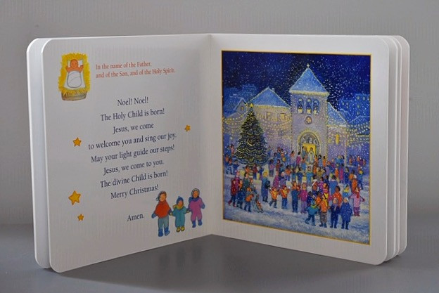 My First Prayers for Christmas by Maïte Roche
