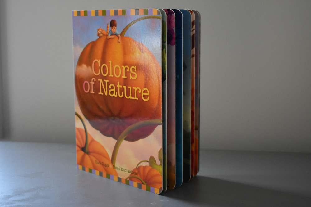 Colors of Nature by Kate Riggs and Domeniconi Paolo