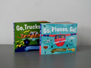 Two New Board Books from Little Bigfoot!
