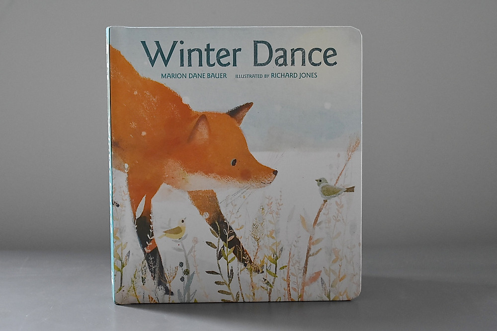 Winter Dance by Marion Dane Bauer with illustrations by Richard Jones