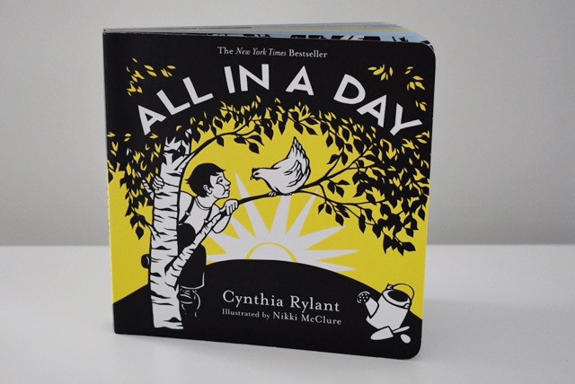 All in a Day by Cynthia Rylant and Nikki McClure