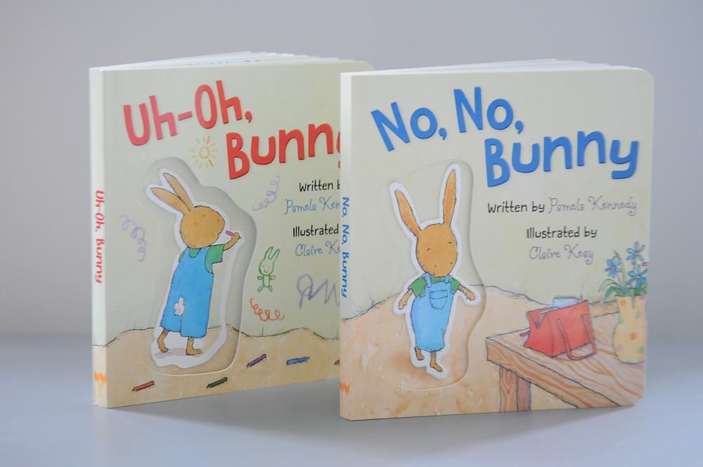Uh-Oh, Bunny and No, No, Bunny