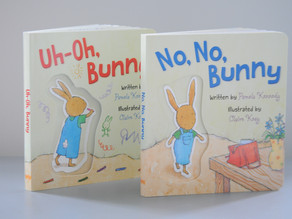 Hot Off the Press: Uh-Oh, Bunny & No, No, Bunny