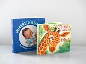Two Board Books from Pajama Press!