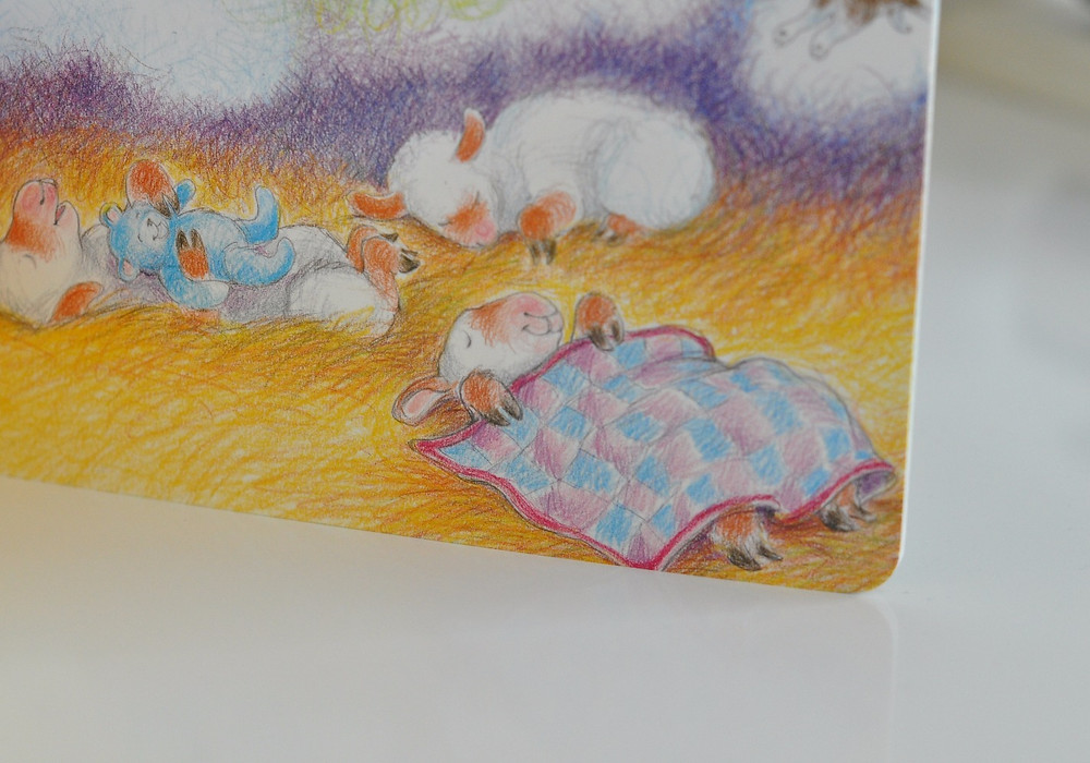 Illustration from Sheep Go to Sleep
