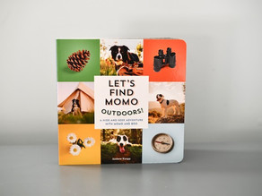 New Publication: Let's Find MoMo Outdoors! by Andrew Knapp