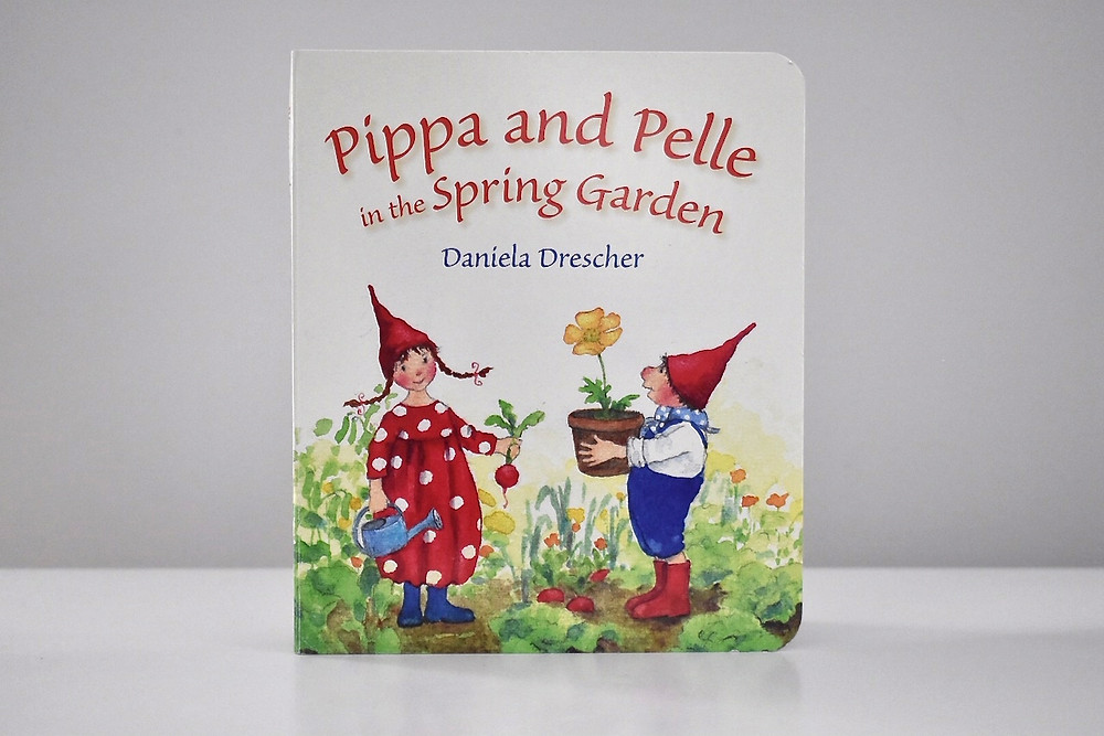 Pippa and Pelle in the Spring Garden by Daniela Drescher