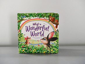 What a Wonderful World by Hannah Campling & Illustrated by Kathryn Inkson