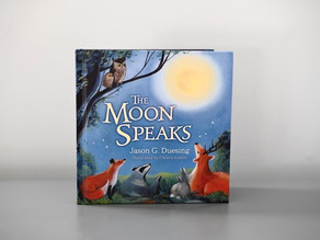 The Moon Speaks by Jason G. Duesing with Illustrations by Chiara Fedele