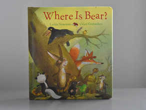 Where Is Bear? by Leslea Newman & Valeri Gorbachev