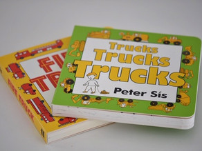 Peter Sís: Two Board Books