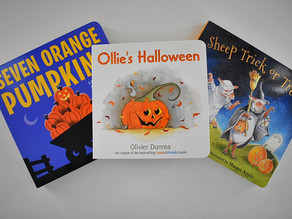 3 Board Books for Halloween