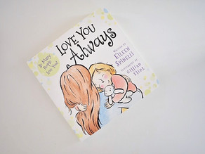 New to board book format: Love You Always by Eileen Spinelli & illustrated by Gillian Flint