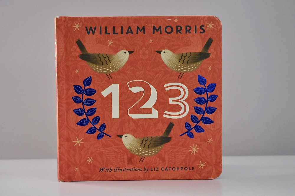 William Morris 123 with illustrations by Liz Catchpole