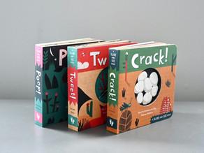 Tweet, Crack, Poop: Three Board Books from Barefoot Books