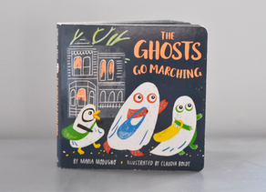 New Publication: The Ghosts Go Marching by Maria Modugno with Illustrations by Claudia Boldt.
