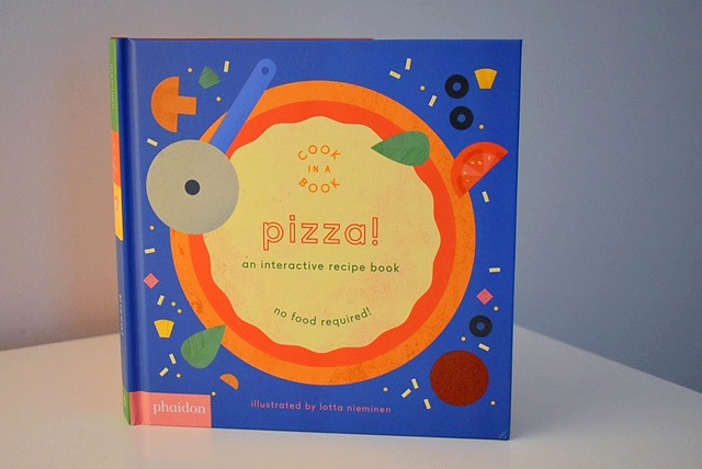 Cook in a Book: Pizza! by Lotta Nieminen