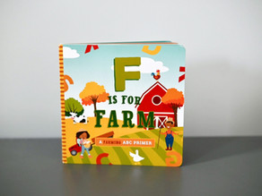 F is for Farm & C is for City by Ashley Mireles and Illustrated by Volha Kaliaha