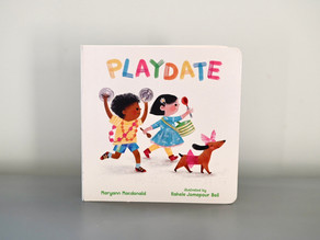 New to Board Book Format: Playdate by Maryann Mcdonald with Illustrations by Rachele Jomepour Bell