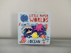 Coming Soon! Little Paper Worlds in the Ocean illustrated by Neil Clark