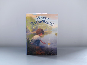 Coming Soon! Where Go the Boats? By Robert Louis Stevenson & Chris Sheban