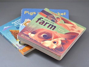 3 Board Books from Chronicle Books!