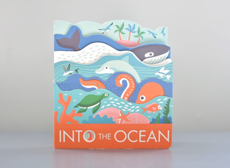Into the Ocean by Laura Baker & Illustrated by Nadia Taylor