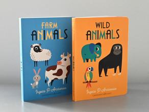 Farm Animals & Wild Animals by Ingela  Arrhenius
