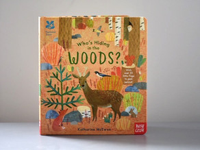 Who's Hiding in the Woods? by Katharine McEwen