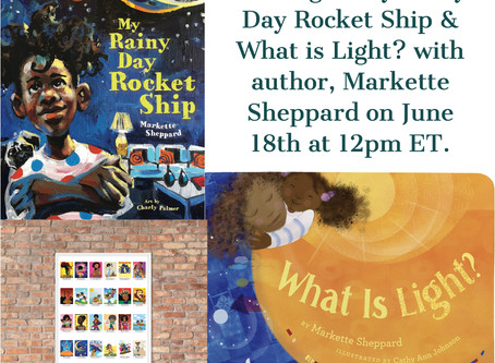 Live Storytime with Author, Markette Sheppard