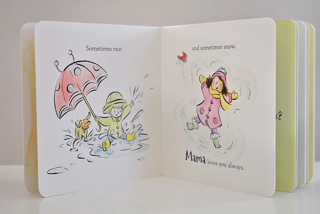 Love You Always by Eileen Spinelli & illustrated by Gillian Flint