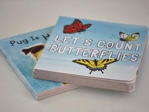 Let's Count Butterflies & Pug is Happy