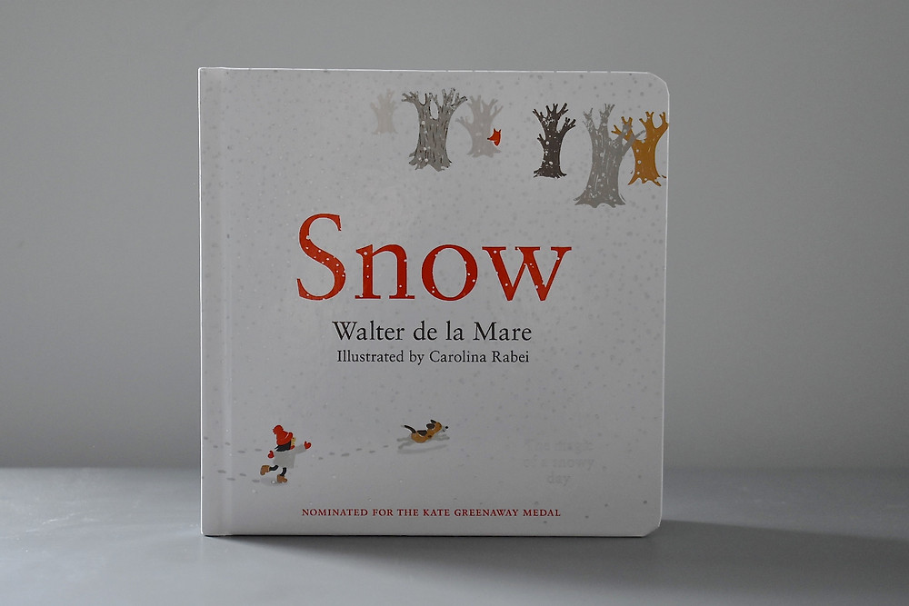 Snow by Walter de la Mare with illustrations by Carolina Rabei
