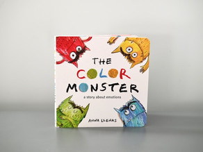 New to Board Book Format: The Color Monster by Anna Llenas