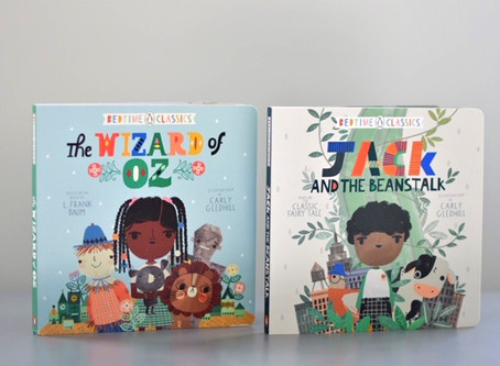 Bedtime Classics: The Wizard of Oz & Jack and the Beanstalk with illustrations by Carly Gledhill