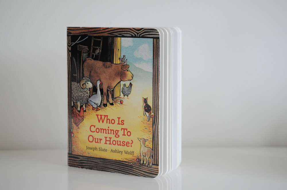 Who is Coming to Our House by Joseph Slate